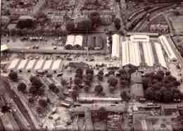 Ariel view of the market