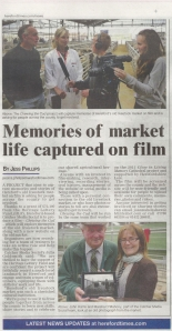 Hereford Times feature 12_09_13